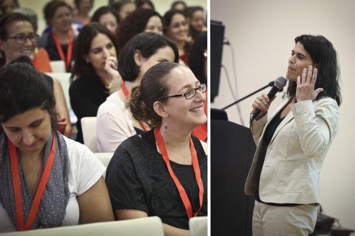 יעל ארד בכנס גולדה, נשים בעסקים 2013